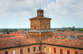 The este castle ferrara emilia romagna italy of Royalty Free Stock Image