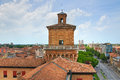 The este castle ferrara emilia romagna italy of Stock Photo