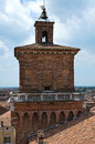 The este castle ferrara emilia romagna italy of Royalty Free Stock Photos