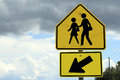 Esteem schoolboy street sign in america Stock Photo