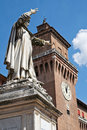 Estense Castle. Ferrara. Emilia-Romagna. Italy. Royalty Free Stock Photos