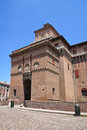 Estense Castle. Ferrara. Emilia-Romagna. Italy. Royalty Free Stock Photo