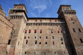Estense castle in Ferrara, Italy Stock Photos