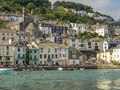 Estuary view of  Dartmouth  Town Centre Royalty Free Stock Photo
