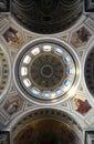 Esztergom Basilica, Hungary - view up the dome