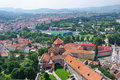 Esztergom cityscape Royalty Free Stock Photo