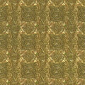 Etched golden and green metal seamless with pattern computer generated Stock Photos