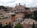 The eternal city of rome italy Royalty Free Stock Photo