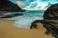 Eternity Beach Royalty Free Stock Photo