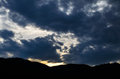Ethereal sky background wallpaper photo Royalty Free Stock Photos