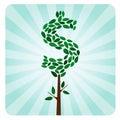 Ethical Money Tree Royalty Free Stock Photo