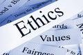 Ethics Concept Royalty Free Stock Photo