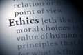 Ethics Royalty Free Stock Photo
