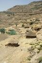 Ethiopian huts Stock Photos