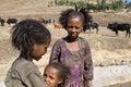 Ethiopian traditional girls.