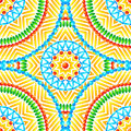 Ethnic african style circles seamless pattern vector Royalty Free Stock Image
