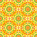 Ethnic african style circles seamless pattern vector Stock Image
