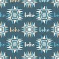 Ethnic boho seamless pattern. Retro motif.