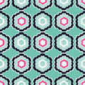 Ethnic boho seamless pattern. Textile rapport.