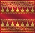 Ethnic buddha pattern background
