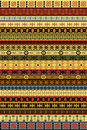 Ethnic carpet with African motifs Royalty Free Stock Photos