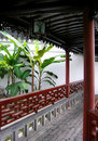 Ethnic Chinese architecture Stock Image