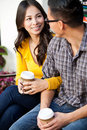Ethnic couple Stock Photography