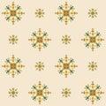 Ethnic design seamless pattern