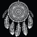 Ethnic dream catcher this is file of eps format Royalty Free Stock Image