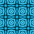 Ethnic modern geometric seamless pattern ornament Stock Image