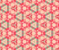 Ethnic modern geometric seamless pattern ornament Royalty Free Stock Photography