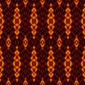 Ethnic modern geometric seamless pattern ornament Stock Photography