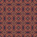Ethnic modern geometric seamless pattern ornament Stock Images