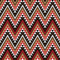 Ethnic motive as a piece of African pattern Stock Images