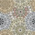 Ethnic oriental seamless pattern.
