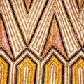 Ethnic pattern closeup Stock Photo