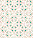 Ethnic pattern ethnik brown and blue on white background seamless Royalty Free Stock Images