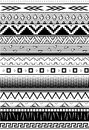 Ethnic pattern. Seamless tribal background. Geometric print. Black and white. vector. Illustration.