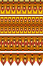 Ethnic Pattern Stripe Set Royalty Free Stock Photo