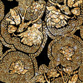 Ethnic pattern in zentangle style for textile, Royalty Free Stock Photo