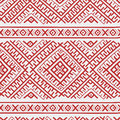 Ethnic russian seamless pattern Royalty Free Stock Photo