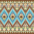Ethnic seamless fashion fabric ornamental background Royalty Free Stock Photos