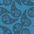 Ethnic seamless paisley Royalty Free Stock Photos
