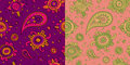 Ethnic seamless pattern Royalty Free Stock Photography