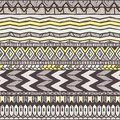 Ethnic seamless pattern abstract background eps vector illustration Stock Photo