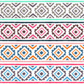 Ethnic seamless pattern. Geometric ornament. Tribal motifs. Summ