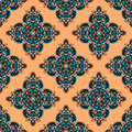 Ethnic seamless pattern handdrawn in style Royalty Free Stock Images