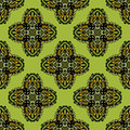 Ethnic seamless pattern illustration fabric cross ornament Royalty Free Stock Image