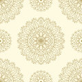 Ethnic seamless pattern. Lace pattern design. Hand drawn vector background.