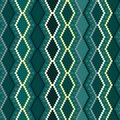 Ethnic seamless pattern ornament background print modern geometric design Stock Photos